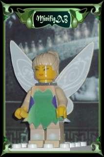 Custom LEGO minifig Tinker Bell