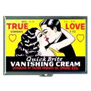 True Love Old Vanishing Cream ID Holder, Cigarette Case or