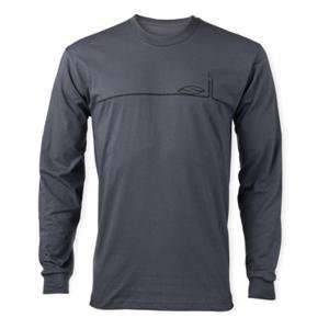 Smith Foundation Long Sleeve T Shirt   Medium/Charcoal