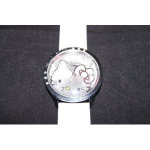 Cute Hello Kitty Watch Color(white) #WN