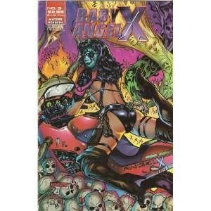 Baby Angel X #3 July 1996 Scott Harrison Books