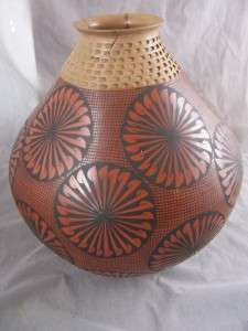HUGE Mata Ortiz Olla Pottery 14.5 tall SIGNED Sandoval