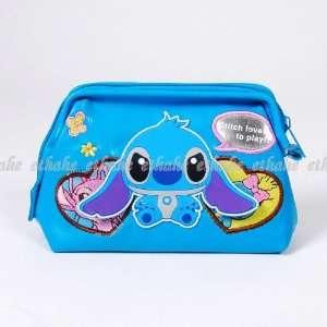 Lilo & Stitch Cosmetic Makeup Pencil Case Purse