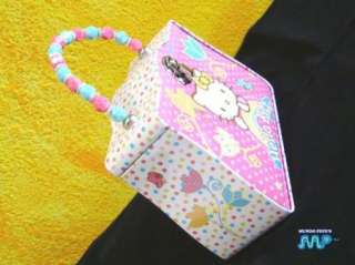 Hello Kitty Metal Tin Lunch Box Purse Disney New 2011