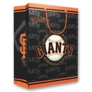 San Francisco Giants MLB Medium Gift Bag (9.75 Tall