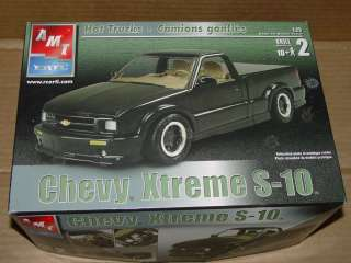 AMT CHEVROLET S10 XTREME 1/25TH SEALED INSIDE OPEN BOX
