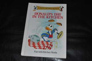Donald Duck Disney Rhyming Reader Book Donalds Day in the Kitchen