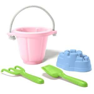 Green Toys Sand Play Set (Pink) Toys & Games