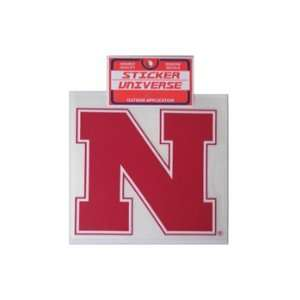 Nebraska Cornhuskers Sticker Iron N