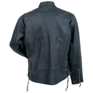 Mens Rocky Mountain Hides Solid Leather Motorcycle, Cruiser Jacket NEW