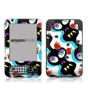 Skull Bombs Design Protective Decal Skin Sticker for  Kindle