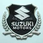 Suzuki Motors Chrome Metal Car Badge Emblem Decal Stick (Fits Reno