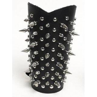 Stud Black Metal Wristband Armband Dimmu Borgir Explore similar items