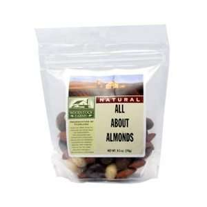 Woodstock Farms All About Almonds, 8.5 Ounce (Pack of 8