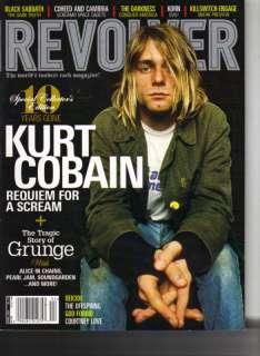 KURT COBAIN NIRVANA Revolver Magazine 4/04 GRUNGE