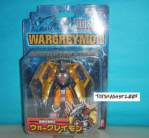 Digimon Tamers D Real Wargreymon Japan Action Figure with Box
