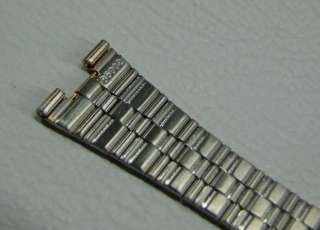 NOS 1970S 6 16 MM SEIKO SQ GOLD PLATED BAND,STRAP B5002 ***