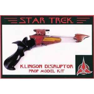 Star Trek Klingon Disruptor Prop Model Kit: Everything