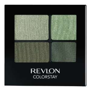 REVLON Colorstay 16 Hour Eye Shadow Quad, Luscious, 0.16