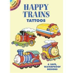 Dover Tattoos) (9780486444376): Cathy Beylon, Tattoos, Trains: Books