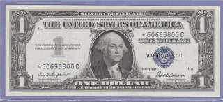 NOTE SILVER CERTIFICATE ONE DOLLAR BILL $1.00 PRIEST/ANDERSON