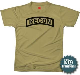 Recon Us Ranger Army Recce Military Scout New T Shirt