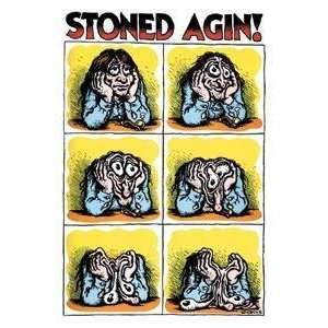 Stoned Again r crumb STICKER pot weed: Everything Else