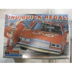 Uno Buick Regal Grand National Race Car Model Car Kit 1983