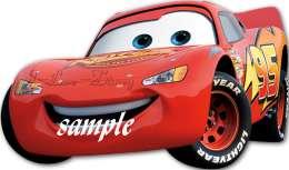 Disney Cars edible cake image topper  12 cupcakes