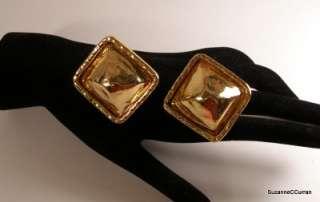 Vintage Bold EDOUARD RAMBAUD Paris Couture Earrings