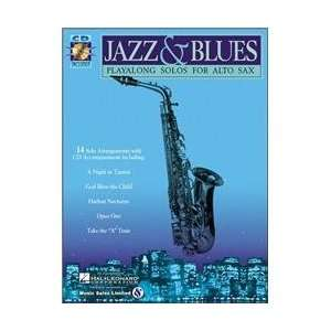 Hal Leonard Jazz And Blues Playalong Solos for Alto Sax
