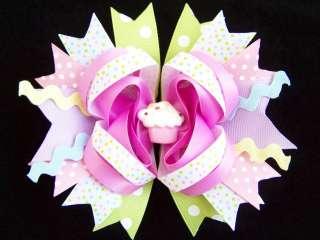 NEW Baby Girls RAINBOW CUPCAKE Birthday Dress 24M NWT