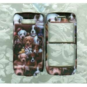 New Puppies snap on case nokia e71 Straight Talk phone