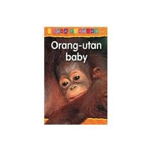 Orang utan Baby Orange Reading Level (I Love Reading