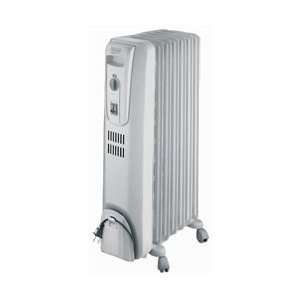 DeLonghi Oil Filled Radiator with Overheat Audible Alarm