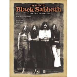 Black Sabbath Easy Guitar with Riffs and Solos Musical Instruments