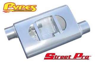 Pypes Performance Exhaust MVS10   Pypes Street Pro Muffler