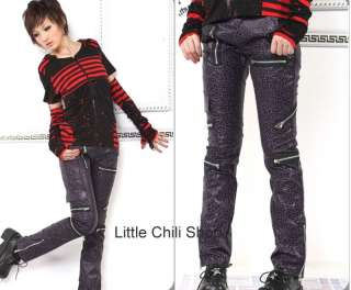 PUNK VISUAL KEI SLIM LOOK MUMMY 71177BP PANTS size S XL