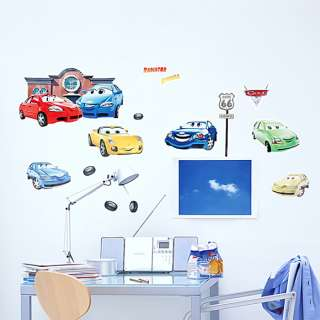 Cars   Medium Wall Decals Stickers Appliques Home Decor
