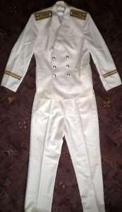 Soviet Russian Military Navy Naval Parade Uniform Suit