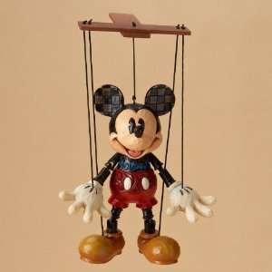 Jim Shore Disney Mickey Mouse Marionette *NEW 2011*