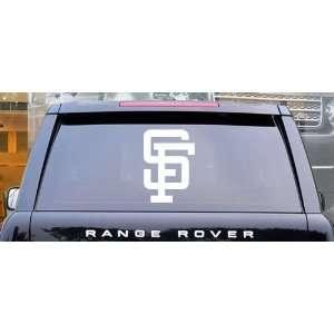 San Francisco Giants MLB Vinyl Decal Sticker / 16 x 11.3