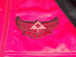 Mens L R G Lifted Research Group Elevate Red/Black Track Jacket XL