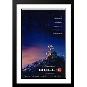 Wall E Framed and Double Matted 20x26 Movie Poster: Fred