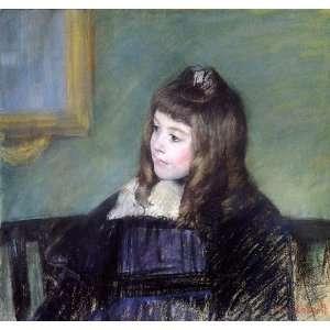 Mary Stevenson Cassatt   32 x 30 inches   Marie Therese Gaillard