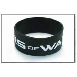Gears of War Black Rubber Bracelet Wristband Sports