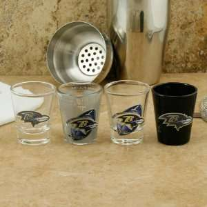 Baltimore Ravens 4 Pack Enhanced High Definition Design
