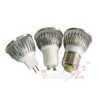 12V Gu10/220V E27 Base 4x2W Led Light Warm Cool White Light Bulb Lamp