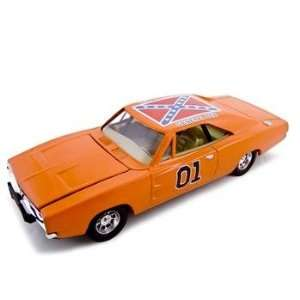 1969 Dodge Charger General Lee Diecast Model 125 Toys
