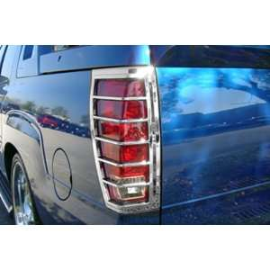 CADILLAC ESCALADE EXT 02 06 Chrome Tail Light Covers